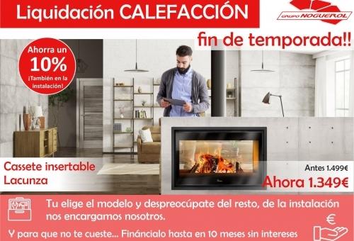 Verano, la mejor época para instalar tu calefacción.